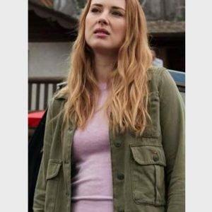Alexandra Breckenridge Virgin River Season 02 Melinda Monroe Green Jacket