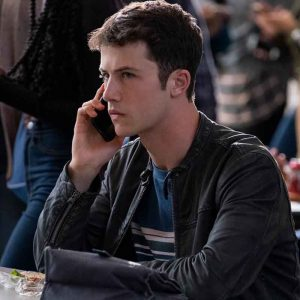 13 Reason Why Clay Jensen Leather Jacket
