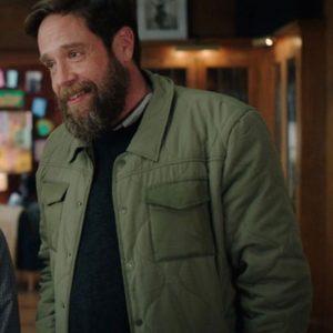 Howie TV Series Zoeys Extraordinary Playlist Zak Orth Green Jacket