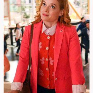 Jane Levy Zoey's Extraordinary Playlist S02 Zoey Red Blazer