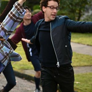 Danny Zoey's Extraordinary Playlist Noah Weisberg Black Bomber Jacket