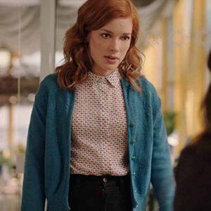 Zoey's Extraordinary Playlist S02 Zoey Blue Woolen Jacket