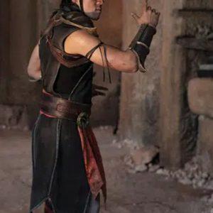 Ludi Lin In Mortal Kombat 2021 Costume