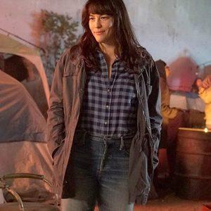 Michelle Blake 9-1-1: Lone Star Liv Tyler Black Cotton Jacket