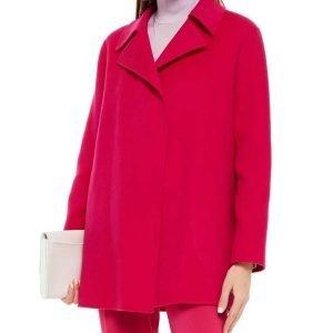 Jennifer Love-Hewitt 9-1-1 Season 04 Maddie Kendall Pink Wool-blend Coat