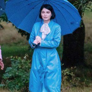 Adele TV Series Behind Her Eyes 2021 Eve Hewson Blue Coat