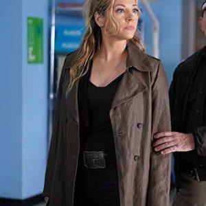 Jenny Hoyt TV Series Big Sky Katheryn Winnick Brown Trench Coat