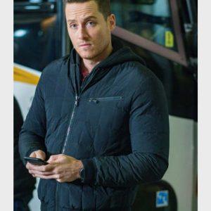 Jay Halstead TV Series Chicago P.D. Jesse Lee Soffer Black Bomber Jacket