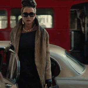Baroness Cruella 2021 Emma Thompson Golden Tailcoat