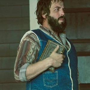 Angus Sampson Fargo Tv Series Bear Gerhardt Blue Denim Vest
