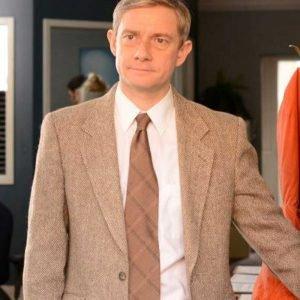 Martin Freeman TV Series Fargo Lester Nygaard Blazer