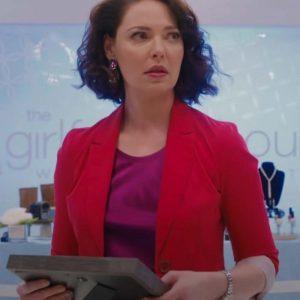 Katherine Heigl TV Series Firefly Lane 2021 Tully Hart Red Blazer