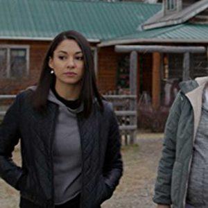 TV Series Heartland Jade Virani Madison Cheeatow Black Leather Jacket