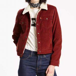 Amy Fleming TV Series Heartland S14 Amber Marshall Sherpa Jacket