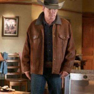 Tim Fleming TV Series Heartland Chris Potter Brown Suede Leather Jacket