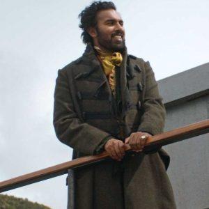 Emery Staines The Luminaries 2021 Himesh Patel Trench Tweed Coat