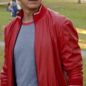 Cobra Kai Johnny Lawrence Red Varsity Jacket