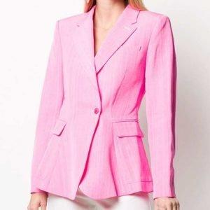 Madelaine Petsch Riverdale Season 05 Cheryl Blossom Pink Blazer