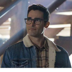 Tyler Hoechlin Superman and Lois 2021 Clark Kent Blue Denim Jacket
