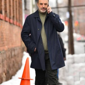 William Bishop TV Series The Equalizer 2021 Chris Noth Blue Coat