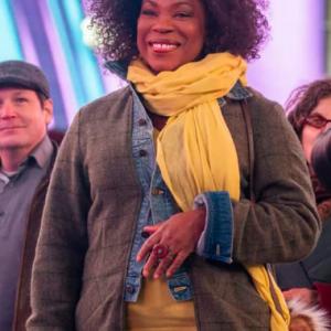 Lorraine Toussaint TV Series The Equalizer 2021 Grey Coat