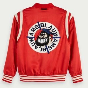 Aisha Hinds TV Series 9-1-1 Season 04 Henrietta Wilson Red Bomber Jacket