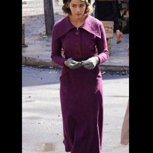 Chloe Bennet Agents of Shield Season 07 Daisy Johnson Purple Coat