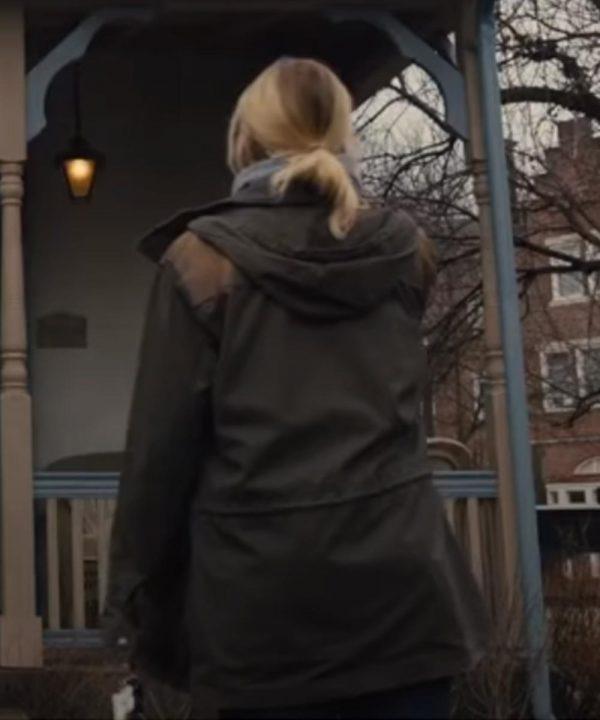 Carrie Layden Mare of Easttown Black Jacket