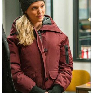 Chicago-P.D.-S08-Hailey-Upton-Hooded-Jacket