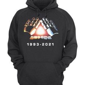 Men's and Women's Daft Punk Break up 1993-2021 Pullover Hoodie