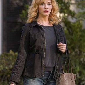 Christina Hendricks TV Series Good Girls Beth Boland Black Cotton Jacket