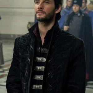 Ben Barnes Shadow and Bone 2021 General Kirigan Black Coat