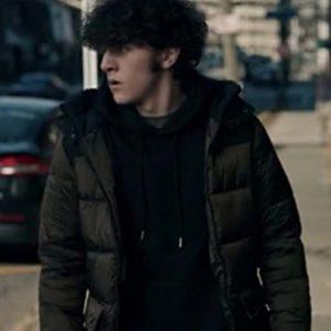 Blake The Equalizer (2021) Daniel Siani Puffer Jacket with Hood