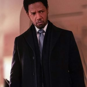 Detective Marcus Dante TV Series The Equalizer (2021) Tory Kittles Black Trench Coat