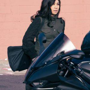 Liza Lapira TV Series The Equalizer 2021 Melody Bayani Black Wool Vest