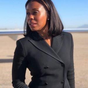 Willa Hayes TV Series Yellowstone Season 4 Karen Pittman Black Coat