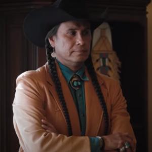 Rainwater Driver TV Series Yellowstone SO4 Moses Brings Plenty Brown Coat