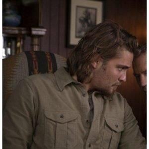 Kayce Dutton TV Series Yellowstone S04 Luke Grimes Jacket