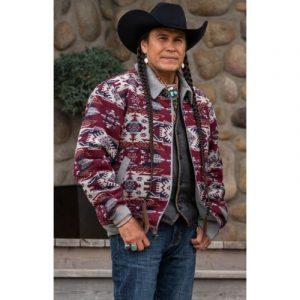 Moses Brings Plenty TV Series Yellowstone Season 4 Jacket