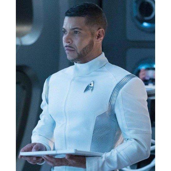 Wilson Cruz TV Series Star Trek Discovery Hugh Culber White Jacket