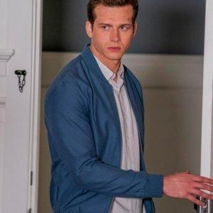 Evan Buckley TV Series 9-1-1 Oliver Stark Blue Bomber Jacket