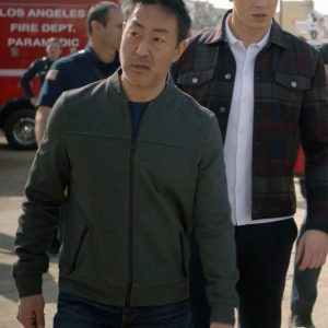Howie Han TV Series 9-1-1 Kenneth Choi Bomber Jacket