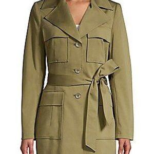 Angela Bassett 9-1-1 Athena Grant Olive Trench Coat