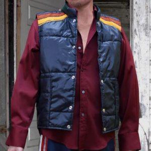 Brad Pit Fight Club Down Puffer Vest