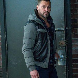 Patrick John Flueger TV Series Chicago P.D. Adam Ruzek Leather Jacket