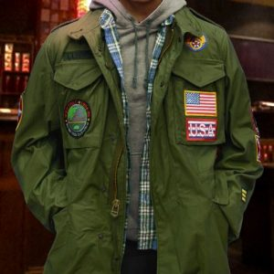 Clarence Christian Slater True Romance M-65 Field Jacket