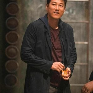 Sung Kang Fast and Furious 9 Han Black Cotton Jacket