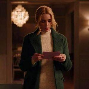 Georgia Miller TV Series Ginny and Georgia Brianne Howey Green Wool Coat