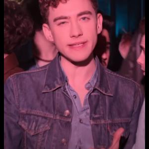 Olly Alexander TV Series It's a Sin 2021 Ritchie Tozer Blue Denim Jacket