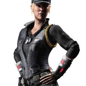 Sonya Blade Mortal Kombat X Soldier Leather Vest